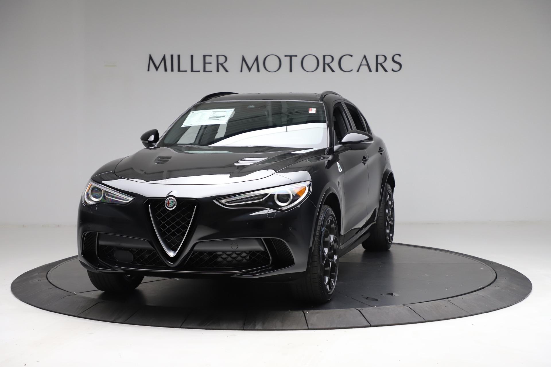 New 2021 Alfa Romeo Stelvio Quadrifoglio for sale $90,450 at Bentley Greenwich in Greenwich CT 06830 1