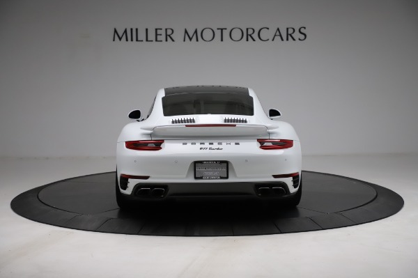 Used 2018 Porsche 911 Turbo for sale $159,990 at Bentley Greenwich in Greenwich CT 06830 8