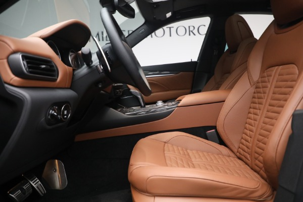 New 2021 Maserati Levante S Q4 GranSport for sale Call for price at Bentley Greenwich in Greenwich CT 06830 16