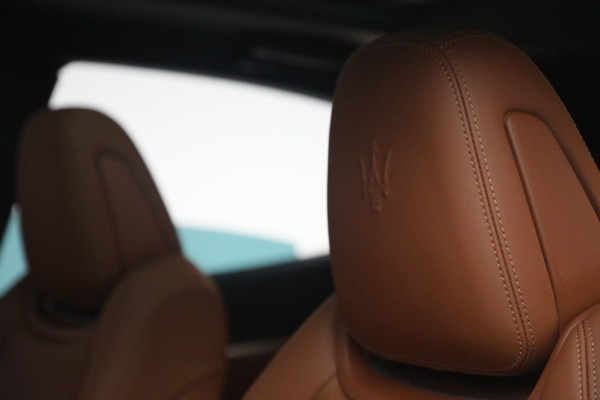 New 2021 Maserati Levante S Q4 GranSport for sale Call for price at Bentley Greenwich in Greenwich CT 06830 18