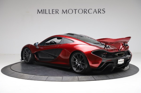 Used 2014 McLaren P1 for sale Call for price at Bentley Greenwich in Greenwich CT 06830 6