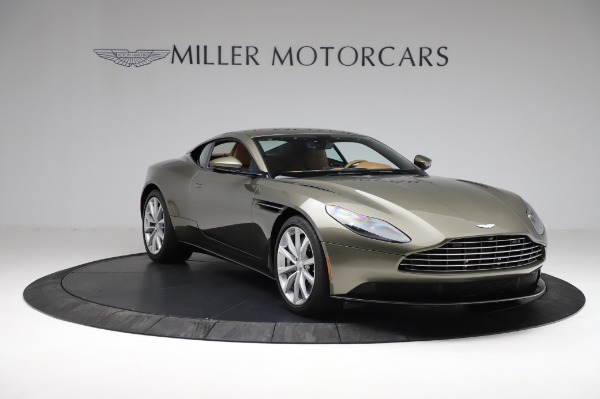Used 2018 Aston Martin DB11 V8 for sale $151,900 at Bentley Greenwich in Greenwich CT 06830 10