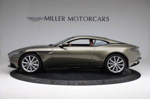 Used 2018 Aston Martin DB11 V8 for sale $151,900 at Bentley Greenwich in Greenwich CT 06830 2