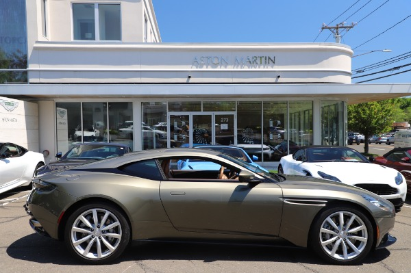 Used 2018 Aston Martin DB11 V8 for sale $151,900 at Bentley Greenwich in Greenwich CT 06830 22