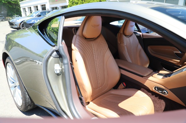 Used 2018 Aston Martin DB11 V8 for sale $151,900 at Bentley Greenwich in Greenwich CT 06830 23