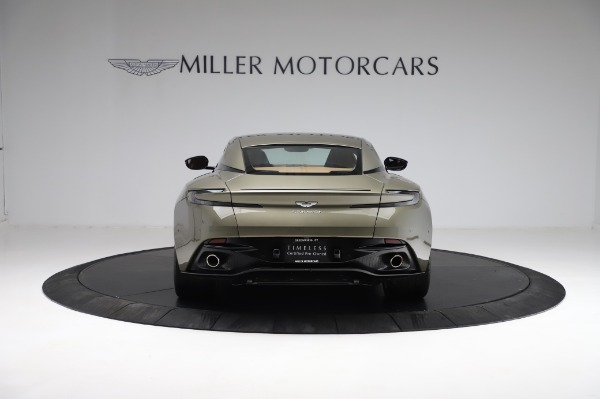 Used 2018 Aston Martin DB11 V8 for sale $151,900 at Bentley Greenwich in Greenwich CT 06830 5