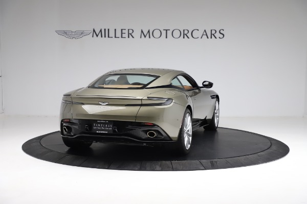 Used 2018 Aston Martin DB11 V8 for sale $151,900 at Bentley Greenwich in Greenwich CT 06830 6
