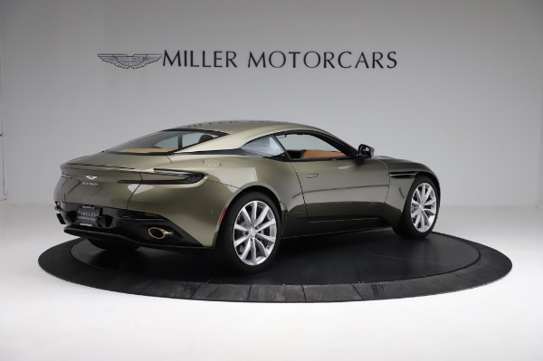 Used 2018 Aston Martin DB11 V8 for sale $151,900 at Bentley Greenwich in Greenwich CT 06830 7