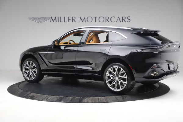 New 2021 Aston Martin DBX for sale $207,886 at Bentley Greenwich in Greenwich CT 06830 3