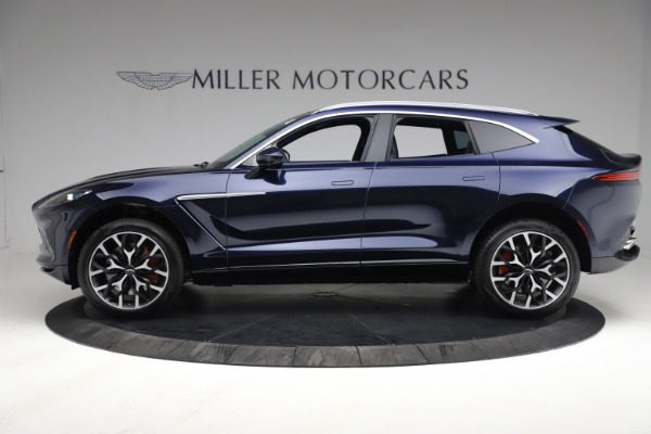 New 2021 Aston Martin DBX for sale $213,086 at Bentley Greenwich in Greenwich CT 06830 2
