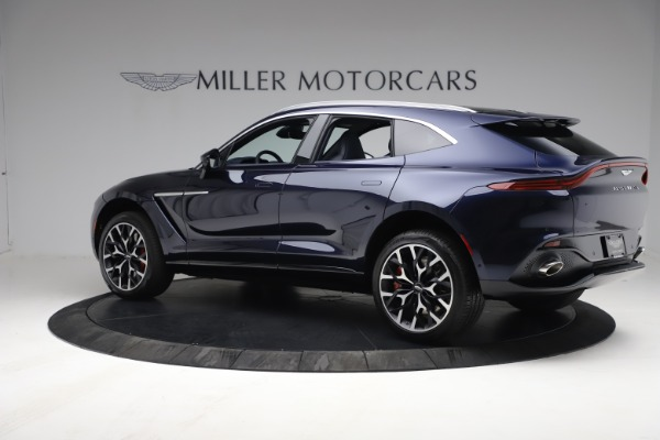 New 2021 Aston Martin DBX for sale $213,086 at Bentley Greenwich in Greenwich CT 06830 3