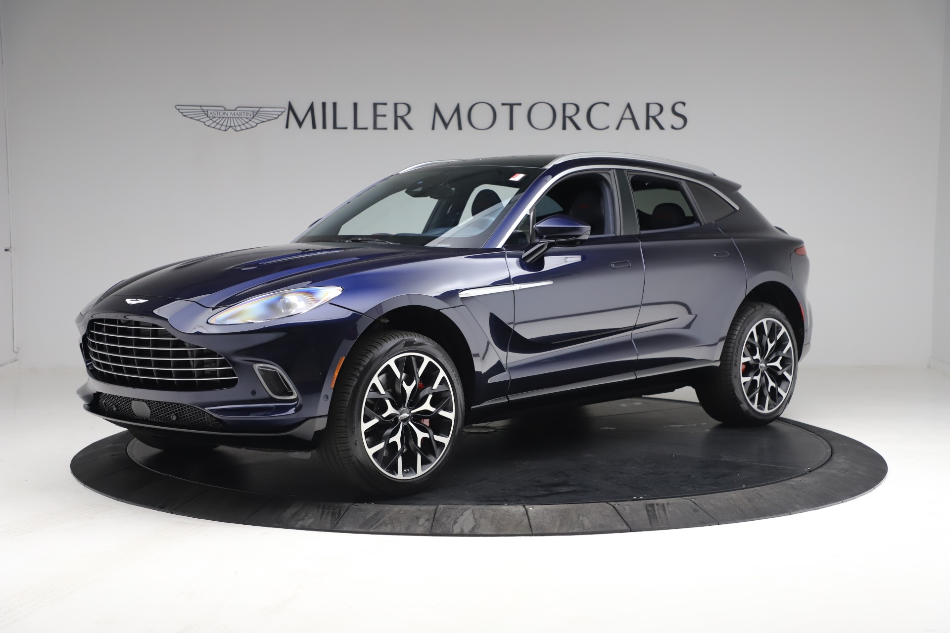 New 2021 Aston Martin DBX for sale $213,086 at Bentley Greenwich in Greenwich CT 06830 1