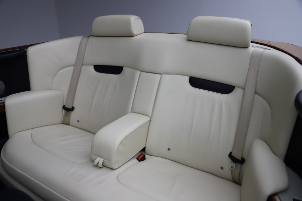Used 2009 Rolls-Royce Phantom Drophead Coupe for sale $219,900 at Bentley Greenwich in Greenwich CT 06830 23