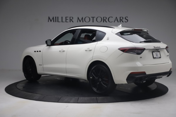 New 2021 Maserati Levante Q4 GranSport for sale $92,485 at Bentley Greenwich in Greenwich CT 06830 4