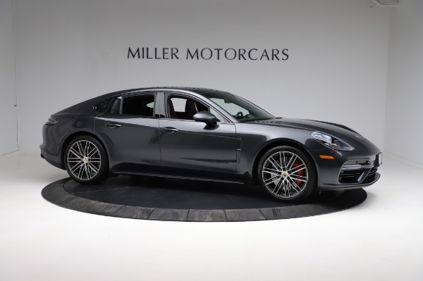 Used 2018 Porsche Panamera Turbo for sale Sold at Bentley Greenwich in Greenwich CT 06830 10