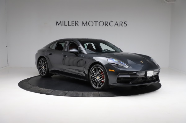 Used 2018 Porsche Panamera Turbo for sale Sold at Bentley Greenwich in Greenwich CT 06830 11