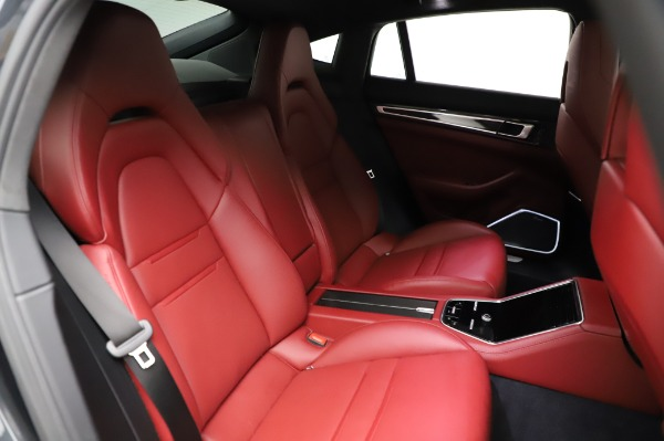 Used 2018 Porsche Panamera Turbo for sale Sold at Bentley Greenwich in Greenwich CT 06830 28