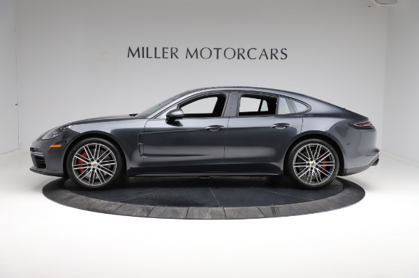 Used 2018 Porsche Panamera Turbo for sale Sold at Bentley Greenwich in Greenwich CT 06830 3