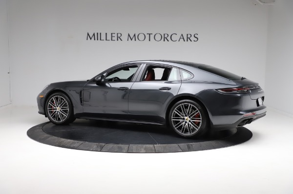 Used 2018 Porsche Panamera Turbo for sale Sold at Bentley Greenwich in Greenwich CT 06830 4