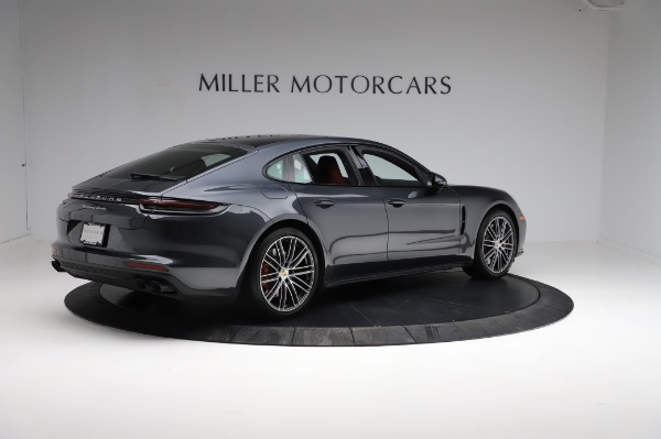 Used 2018 Porsche Panamera Turbo for sale Sold at Bentley Greenwich in Greenwich CT 06830 8