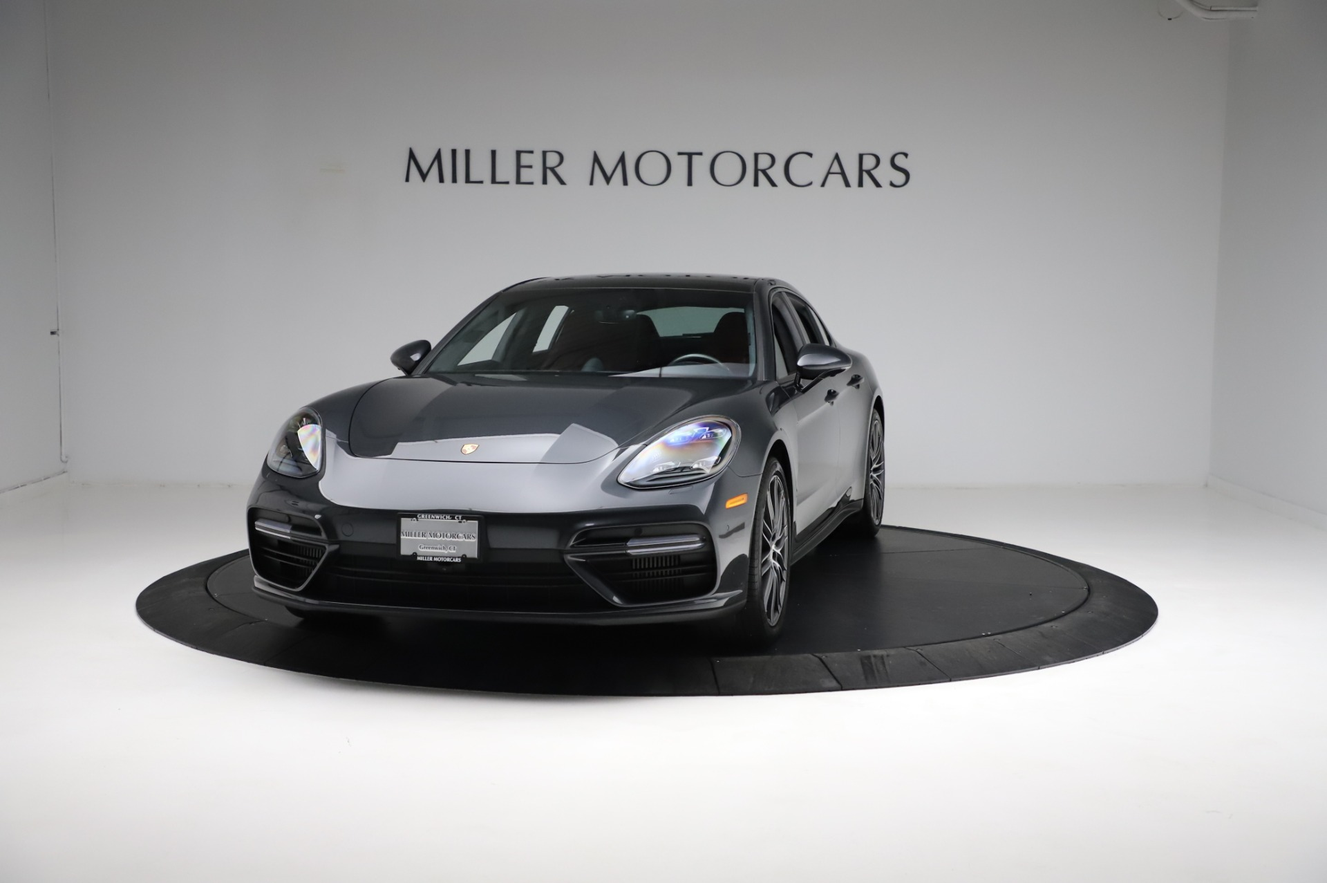 Used 2018 Porsche Panamera Turbo for sale Sold at Bentley Greenwich in Greenwich CT 06830 1