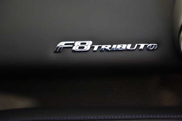 Used 2020 Ferrari F8 Tributo for sale $349,900 at Bentley Greenwich in Greenwich CT 06830 21