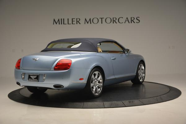 Used 2007 Bentley Continental GTC for sale Sold at Bentley Greenwich in Greenwich CT 06830 19