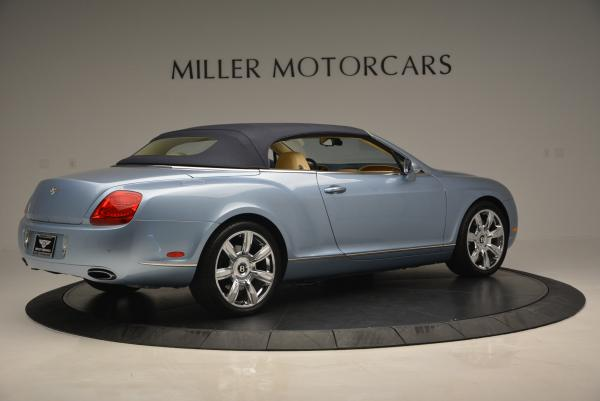 Used 2007 Bentley Continental GTC for sale Sold at Bentley Greenwich in Greenwich CT 06830 20