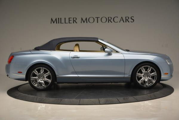 Used 2007 Bentley Continental GTC for sale Sold at Bentley Greenwich in Greenwich CT 06830 21