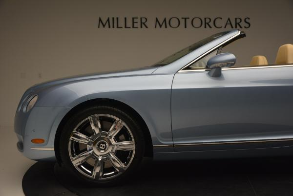Used 2007 Bentley Continental GTC for sale Sold at Bentley Greenwich in Greenwich CT 06830 28