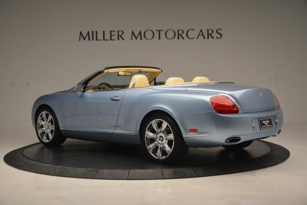 Used 2007 Bentley Continental GTC for sale Sold at Bentley Greenwich in Greenwich CT 06830 4