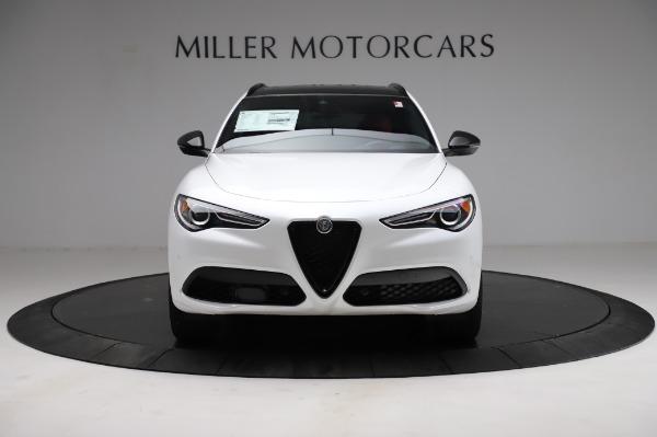 New 2021 Alfa Romeo Stelvio Ti Sport Q4 for sale $56,240 at Bentley Greenwich in Greenwich CT 06830 12