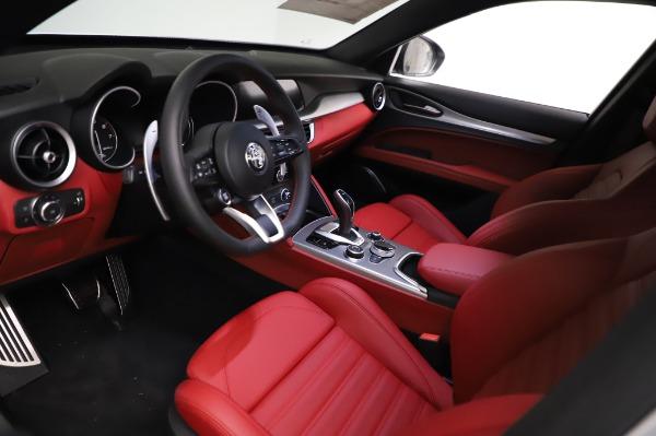 New 2021 Alfa Romeo Stelvio Ti Sport Q4 for sale $56,240 at Bentley Greenwich in Greenwich CT 06830 13
