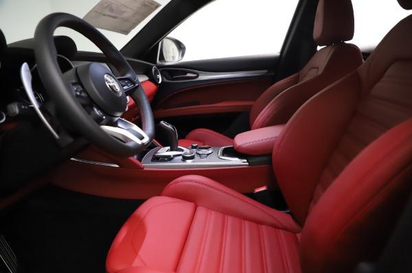 New 2021 Alfa Romeo Stelvio Ti Sport Q4 for sale $56,240 at Bentley Greenwich in Greenwich CT 06830 14