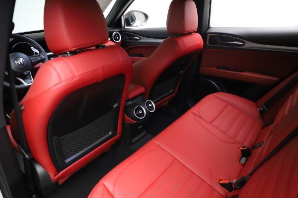 New 2021 Alfa Romeo Stelvio Ti Sport Q4 for sale $56,240 at Bentley Greenwich in Greenwich CT 06830 18