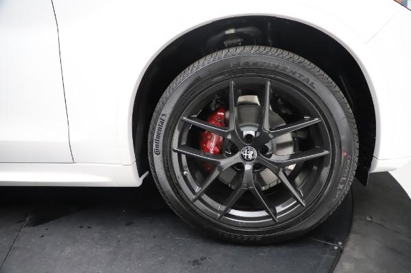 New 2021 Alfa Romeo Stelvio Ti Sport Q4 for sale $56,240 at Bentley Greenwich in Greenwich CT 06830 28