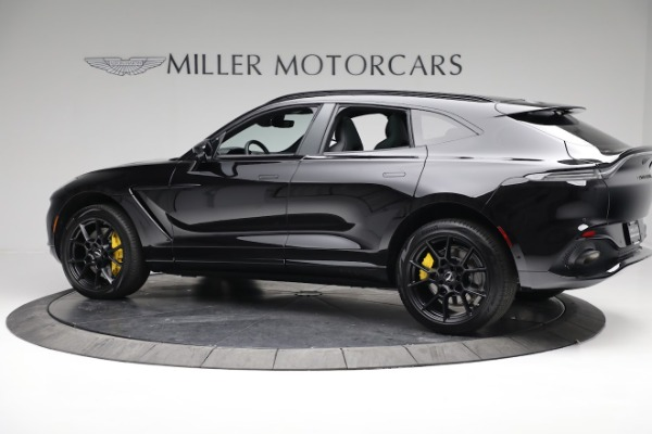 New 2021 Aston Martin DBX for sale $209,686 at Bentley Greenwich in Greenwich CT 06830 3