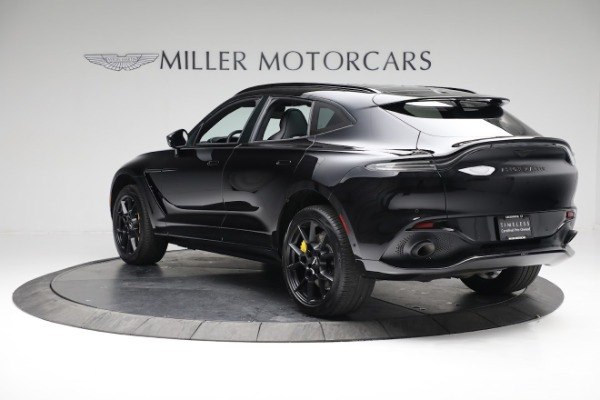 New 2021 Aston Martin DBX for sale $209,686 at Bentley Greenwich in Greenwich CT 06830 4