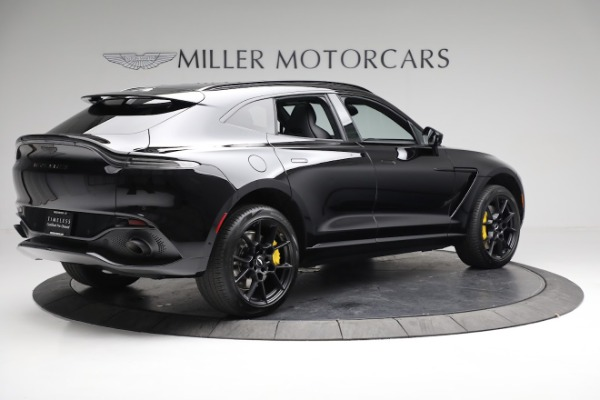 New 2021 Aston Martin DBX for sale $209,686 at Bentley Greenwich in Greenwich CT 06830 7