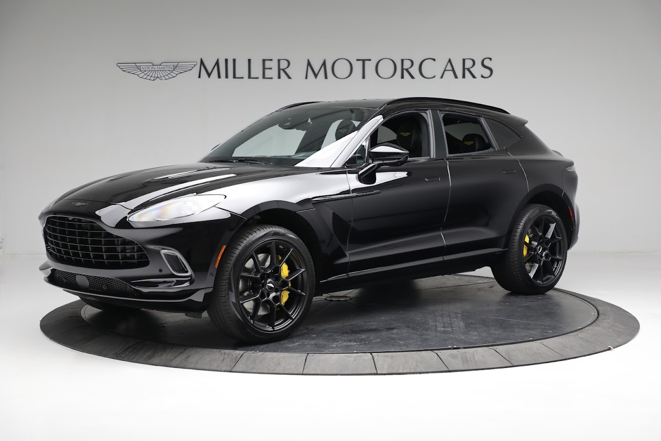 New 2021 Aston Martin DBX for sale $209,686 at Bentley Greenwich in Greenwich CT 06830 1