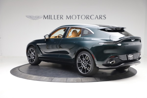 New 2021 Aston Martin DBX for sale $214,986 at Bentley Greenwich in Greenwich CT 06830 3