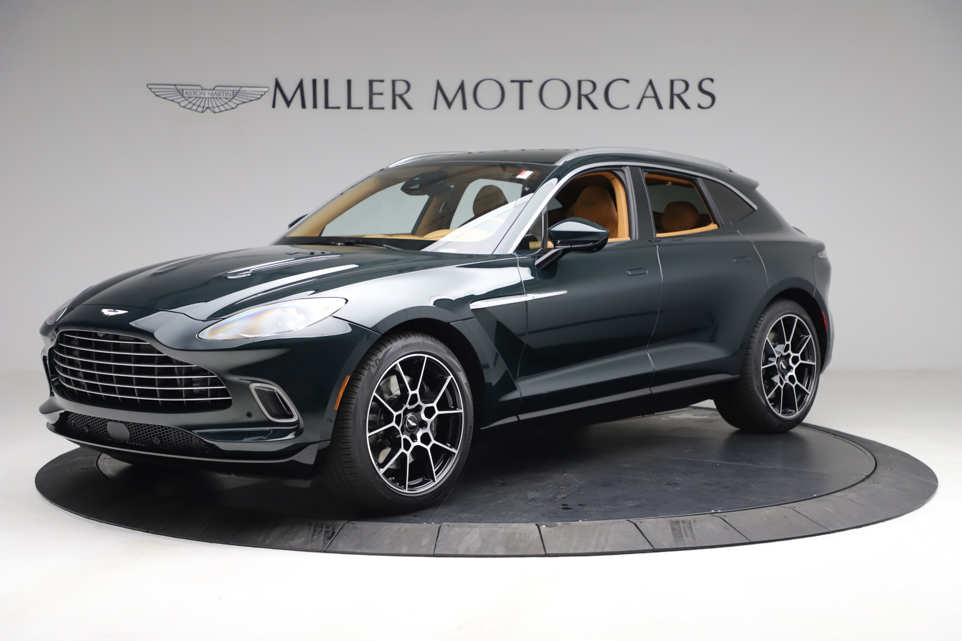 New 2021 Aston Martin DBX for sale $214,986 at Bentley Greenwich in Greenwich CT 06830 1