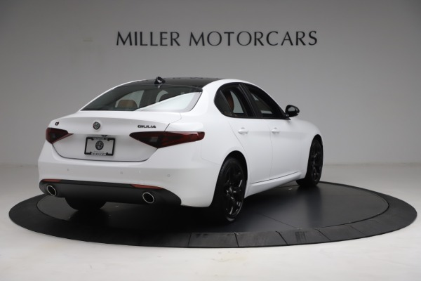 New 2021 Alfa Romeo Giulia Q4 for sale Call for price at Bentley Greenwich in Greenwich CT 06830 7
