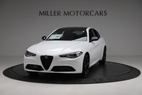 New 2021 Alfa Romeo Giulia Q4 for sale Call for price at Bentley Greenwich in Greenwich CT 06830 1