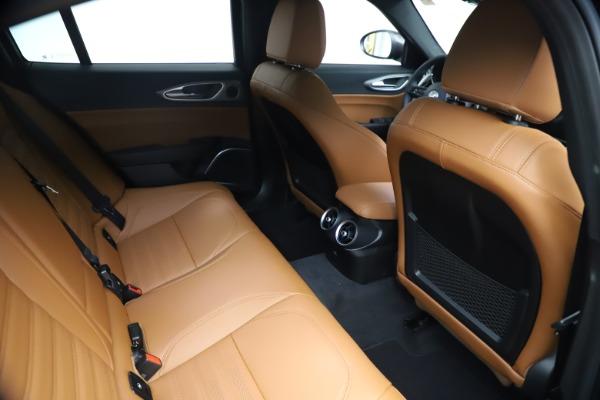 New 2021 Alfa Romeo Giulia Ti Sport Q4 for sale $54,050 at Bentley Greenwich in Greenwich CT 06830 25