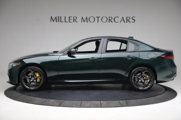 New 2021 Alfa Romeo Giulia Ti Sport Q4 for sale $54,050 at Bentley Greenwich in Greenwich CT 06830 3