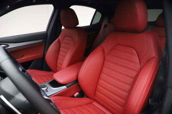 New 2021 Alfa Romeo Stelvio Ti Sport Q4 for sale $54,095 at Bentley Greenwich in Greenwich CT 06830 16