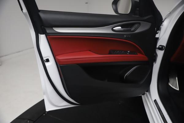 New 2021 Alfa Romeo Stelvio Ti Sport Q4 for sale $54,095 at Bentley Greenwich in Greenwich CT 06830 17
