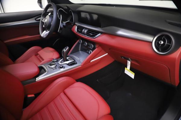 New 2021 Alfa Romeo Stelvio Ti Sport Q4 for sale $54,095 at Bentley Greenwich in Greenwich CT 06830 22