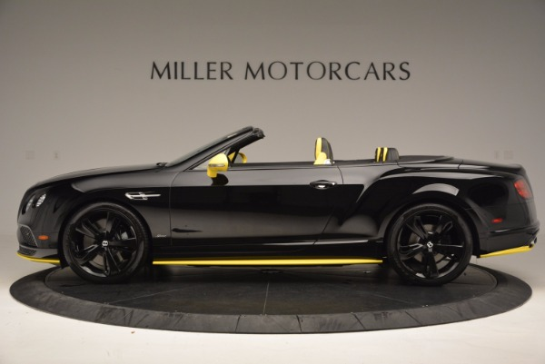 New 2017 Bentley Continental GT Speed Black Edition Convertible for sale Sold at Bentley Greenwich in Greenwich CT 06830 3